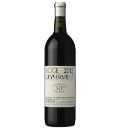 Ridge Geyserville Zinfandel Blend Sonoma Country 2016